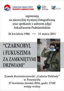 Plakat Czarnobyl ok male