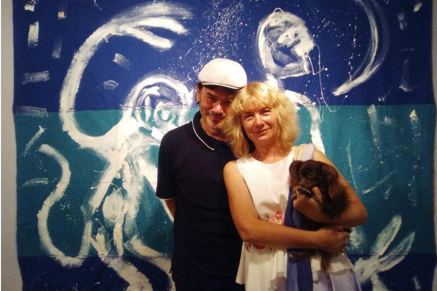 O małżeństwie malarzy, co strzeże swoich światów